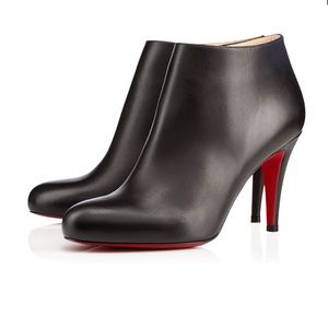 Christian Louboutin Belle Red-Sole Ankle Boots
